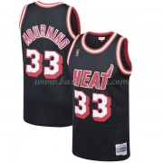 Miami Heat 1996-97 Alonzo Mourning 33# Svart Hardwood Classics..
